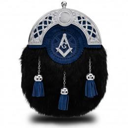 Blue Masonic Dress Sporran