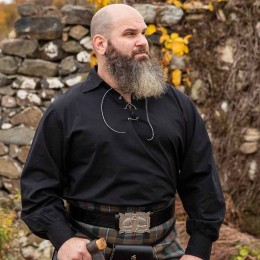 The Highland Jacobite Shirt is great for Renn Faire, Celtic festivals, or even SCA garb