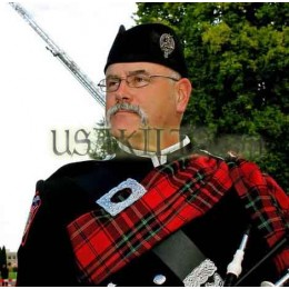 Firefighters Memorial Pipers Plaid