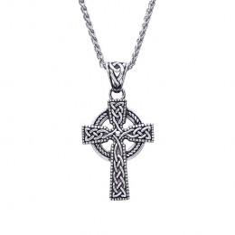 Heirloom quality Stirling Silver Unisex Celtic Cross pendant
