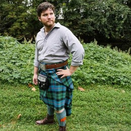 The PV Great Kilt is perfect for casual Celtic festival wear!