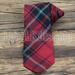 Firefighters Memorial Tartan Tie