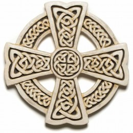 Dublin, Ireland Celtic cross with endless knot designs.