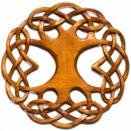 Hand Carved Mahogany Tree of Life