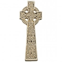 Found in the ruins of a medieval church, the Muthill Celtic knotwork cross is fascinatingly gorgeous.