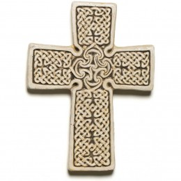 Thurso Cross -- a classic cross with intricate knot work, found in Thurso, Scotland.