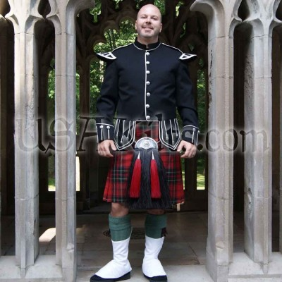 Firefighters Memorial Premier 8 Yard Kilt
