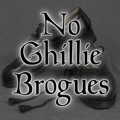 No Ghillie Brogues