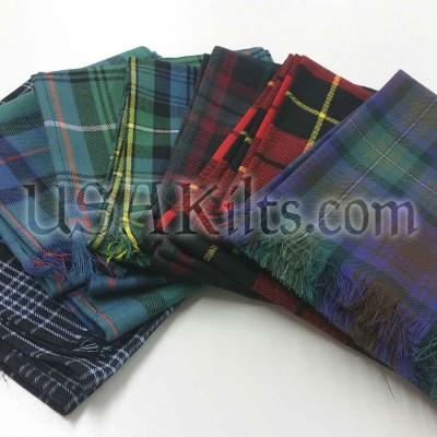 Wool Tartan Sash