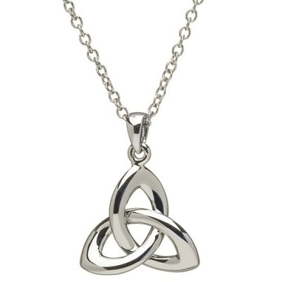 Silver Trinity Pendant Necklace (SP2033)