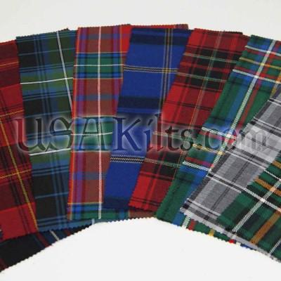 Wool Tartan Swatch
