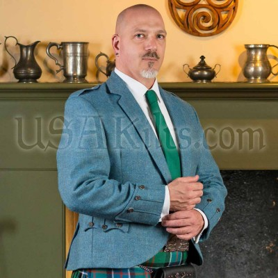 Men's Tweed Jacket from USA Kilts