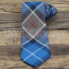 Michigan State Seal Tartan Necktie