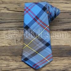 New Jersey State Seal Tartan Tie
