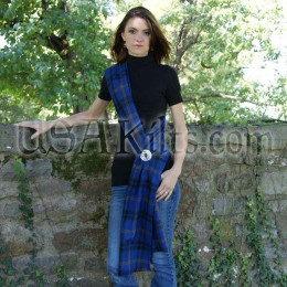 Law Enforcement Officers Memorial Tartan Wool Sash