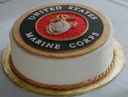 Kilt up for USMC Birthday