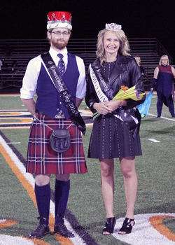 Kilts are handsome for homecoming dances and fun to wear to football games!