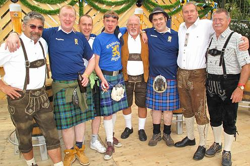 Celts and Germans both love beer!