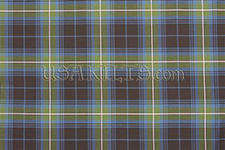 The tartan USA Kilts designed for Scruffy Wallace - bagpiper of The Dropkick Murphys