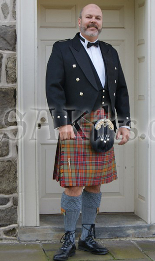 You can dress in a real Irish kilt suit for your wedding or any other special occasion!