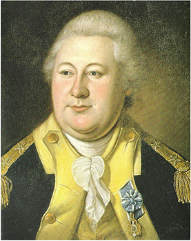 Henry Knox went from book seller to artillery commander