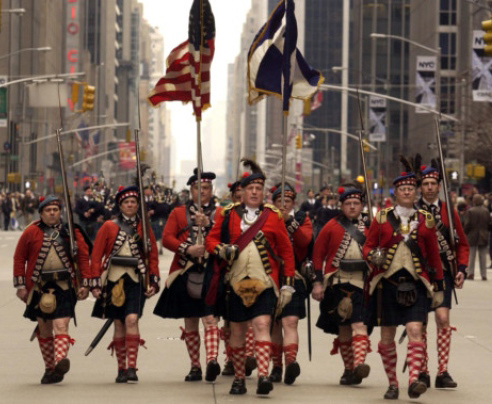 Scottish Americans were pivotal during the revolutionary War
