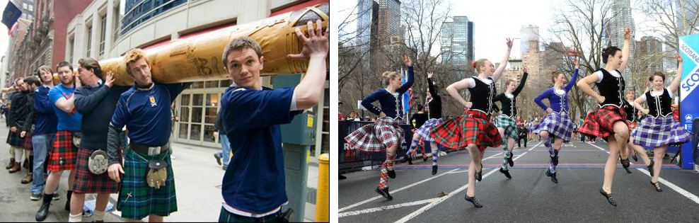 Tartan Day festivities include many Scottish traditions