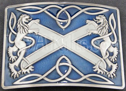 National symbls of Scotland appear on many kilt accessories