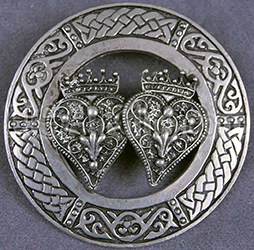 The Luckenbooth, like the Claddagh, represents love and commitment