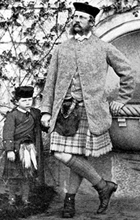 Frederick III in Highland jacket