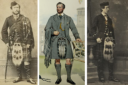 The Victorian Scots created a hybrid doublet and jacket for the first time. It became our modern Argyll jacket