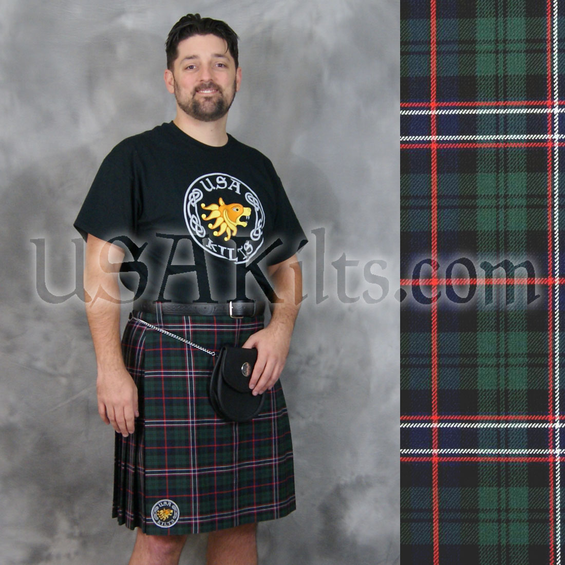 Scottish National Casual Kilt